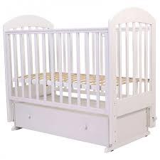 <b>Детская кроватка Топотушки</b> Дарина-6 (поперечный маятник ...