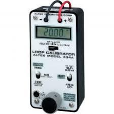Altek 334A mA Loop <b>Calibrator</b>, <b>4</b>-<b>20 mA</b> | Transcat