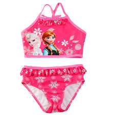 Two Pieces Baby <b>Girls Bathing Suit Elsa Anna</b> 2019 Swimsuit ...