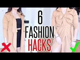 6 WAYS To <b>Knot</b> Your Clothes | <b>SIMPLE FASHION</b> HACKS - YouTube