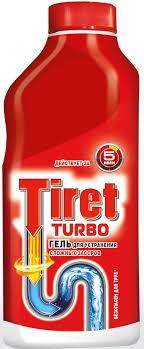 """Гель для удаления засоров """"<b>Tiret Turbo</b>"""", 500 мл — купить в ..."""
