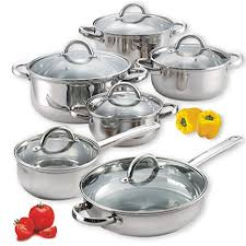 Cook N Home NC-00250 12-Piece Stainless Steel ... - Amazon.com
