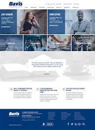 staffing websites recruitment websites davis staffing website