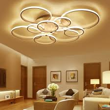 Surface mounted <b>modern led</b> ceiling lights for living room Bed room ...