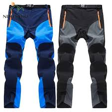 <b>NUONEKO</b> New <b>Mens</b> Summer Quick Dry Hiking Pants <b>Men</b> ...