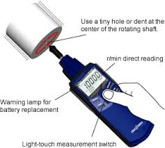 ONO SOKKI Contact and <b>Non</b>-<b>Contact Handheld Digital</b> Tachometers