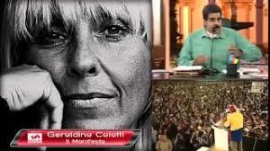 Risultati immagini per Geraldina Colotti Venezuela
