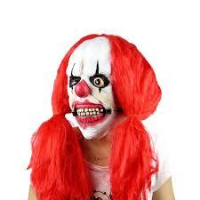 Halloween Silicone Clown Scary Zombie <b>Latex</b> masquerade <b>Mask</b> ...