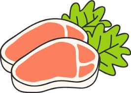 「豚肉 イラスト」の画像検索結果
