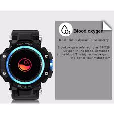 <b>GW68 Smart watch</b> Heart Rate Blood Pressure oxygen monitor IP67 ...