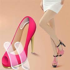 <b>1Pair</b> Women Fashion <b>Silicone</b> Gel <b>Heel</b> Cushion protector Shoe ...