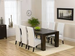 black white dining chairs