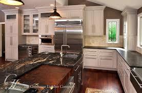 countertops dark wood kitchen islands table: stylish kitchen design with brown walnut butcher block