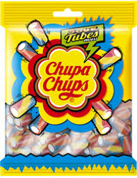 <b>Мармелад</b> жевательный <b>CHUPA CHUPS Sour</b> tubes mini с ...