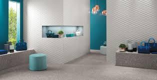 <b>3D wall</b> tiles for a Showroom – <b>Atlas Concorde</b>