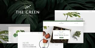 The <b>Green</b> - Houseplants & Gardening WordPress <b>Theme</b> by ...