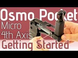 DJI OSMO Pocket <b>Handheld Z Axis Stabilizer</b> - YouTube