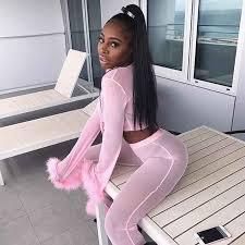 <b>Sweet Pink</b> Mesh Sheer Jackets 2018 New Arrival Fashion V Neck ...