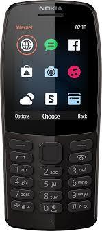<b>Мобильный телефон Nokia 210</b> DS, черный — купить в интернет ...