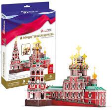 Купить игрушку <b>Cubic Fun Рождественская церковь</b> (Россия) в ...