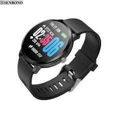 SENBONO <b>V11 Smart watch IP67</b> waterproof Clock Tempered glass ...