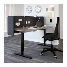 bekant reception desk sitstand birch veneerwhite 160x80 55 cm ikea bekant desk sit stand screen