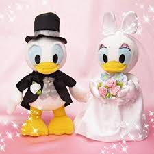 Bridal stuffed S Donald Duck & Daisy Duck: Toys ... - Amazon.com