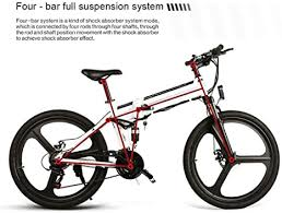 SHIJING <b>26 Inch</b> Tyre <b>Samebike LO26</b> Smart Folding Electric ...