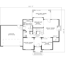 Ryleigh Early American Home Plan D    House Plans and MoreEarly American House Plan First Floor   D    House Plans and More
