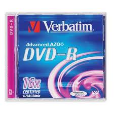 <b>Диск DVD</b>-<b>R Verbatim 4.7 Gb</b> 16x – выгодная цена – купить товар ...
