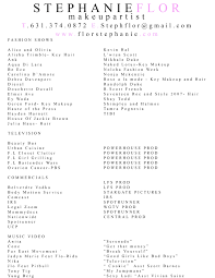 makeup artist resume for sephora cipanewsletter makeup artist resume for sephora mugeek vidalondon