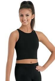 Dance <b>Crop</b> & <b>Bra Tops</b> | Dancewear Solutions®