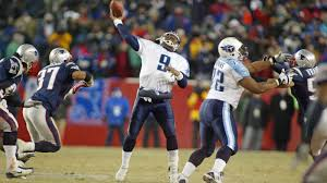 the case against the patriots annual tomato can game cbs boston steve mcnair throws a pass as rodney harrison bears down photo by rick stewart