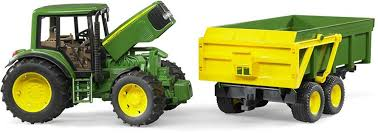 <b>Игрушка BRUDER</b> Трактор <b>John Deere</b> 6920 с прицепом
