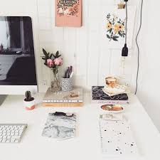 cute home office with marble accents chic vintage home office desk cute