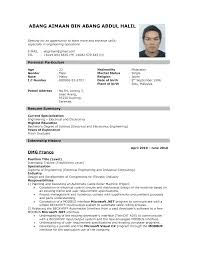 Sample Resume Format for Fresh Graduates  One Page Format     resume template resume templates you can download jobstreet