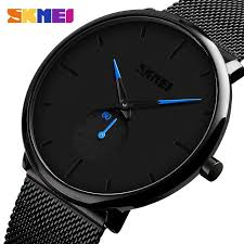 SKMEI 9185 <b>Fashion Men</b> Wristwatch w/ <b>30M</b> Waterproof ...