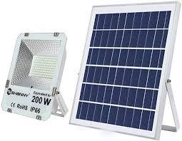 Shanny <b>IP66 Waterproof Solar</b> Flood Lights