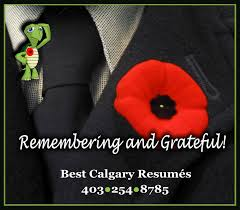 best calgary resumes greeting card remembrance day