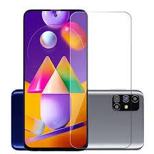 POPIO <b>Tempered Glass</b> for Samsung Galaxy M31s (Transparent ...
