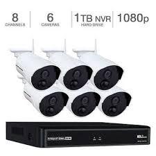 Night Owl 8-Channel 1080p <b>Wireless Smart</b> Security Hub with 1TB ...