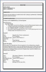 mca resume format for experience download httpwwwresumecareerinfo download resume template