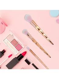 Buy <b>11Pcs</b> Makeup Brush Set Rose Gold Delicate <b>Soft</b> With Makeup ...
