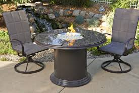 furniture set gas fire pit table