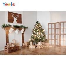 <b>Yeele</b> Christmas <b>Tree</b> Fireplace Deer Frame Gift Baby Photography ...