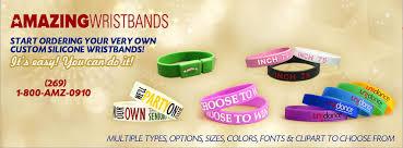 Amazing <b>Wristbands</b>: Custom <b>Silicone Wristbands</b> & <b>Rubber Bracelets</b>