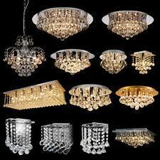 <b>LED Crystal</b> Ceiling <b>Chandeliers</b> for sale | eBay