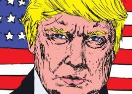 Image result for Untrue rumors about Trump cartoon