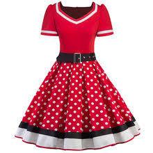 Online Get Cheap <b>Women</b> Retro <b>Dress</b> 50s 60s Vintage Rockabilly ...