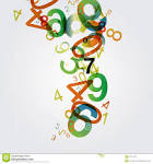 Images & Illustrations of abstract number